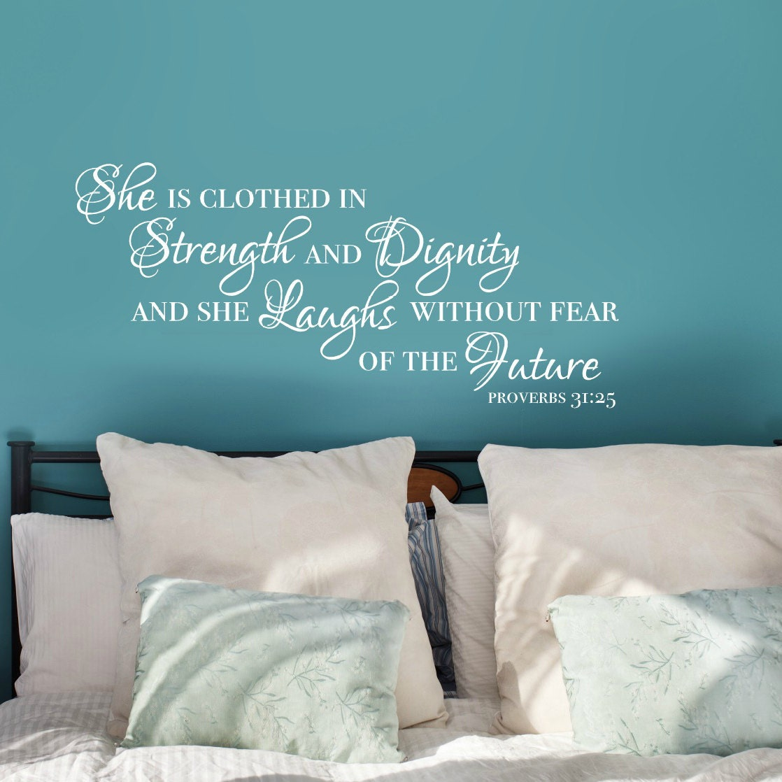 Dignity Wall: She Is Clothed In Strength And Dignity Proverbs 31 25 Wall