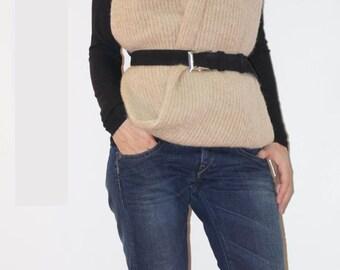 Extravagant Warm Scarf/Knitt Extravagant Shawl/Knitt Extravagant Scarf/Convertible Winter Accssesorie/F1268