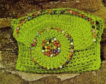 Crochet Bag Pattern Beaded Bag Pattern Crochet Handbag Pattern Crochet Purse Pattern Crochet Clutch Pattern Vintage Pattern