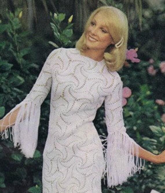 CROCHET DRESS PATTERN Crochet Wedding Dress Pattern Crochet