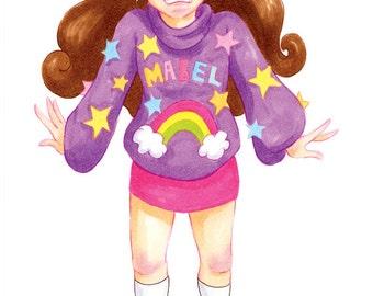 "Mabel. 5""x7"" Print"