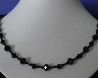 Classic necklace Crystal Ori