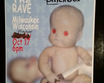 Chevelle, Taproot, Blackbox Milwaukee 10/17/05 Concert Tour Poster, The Rave