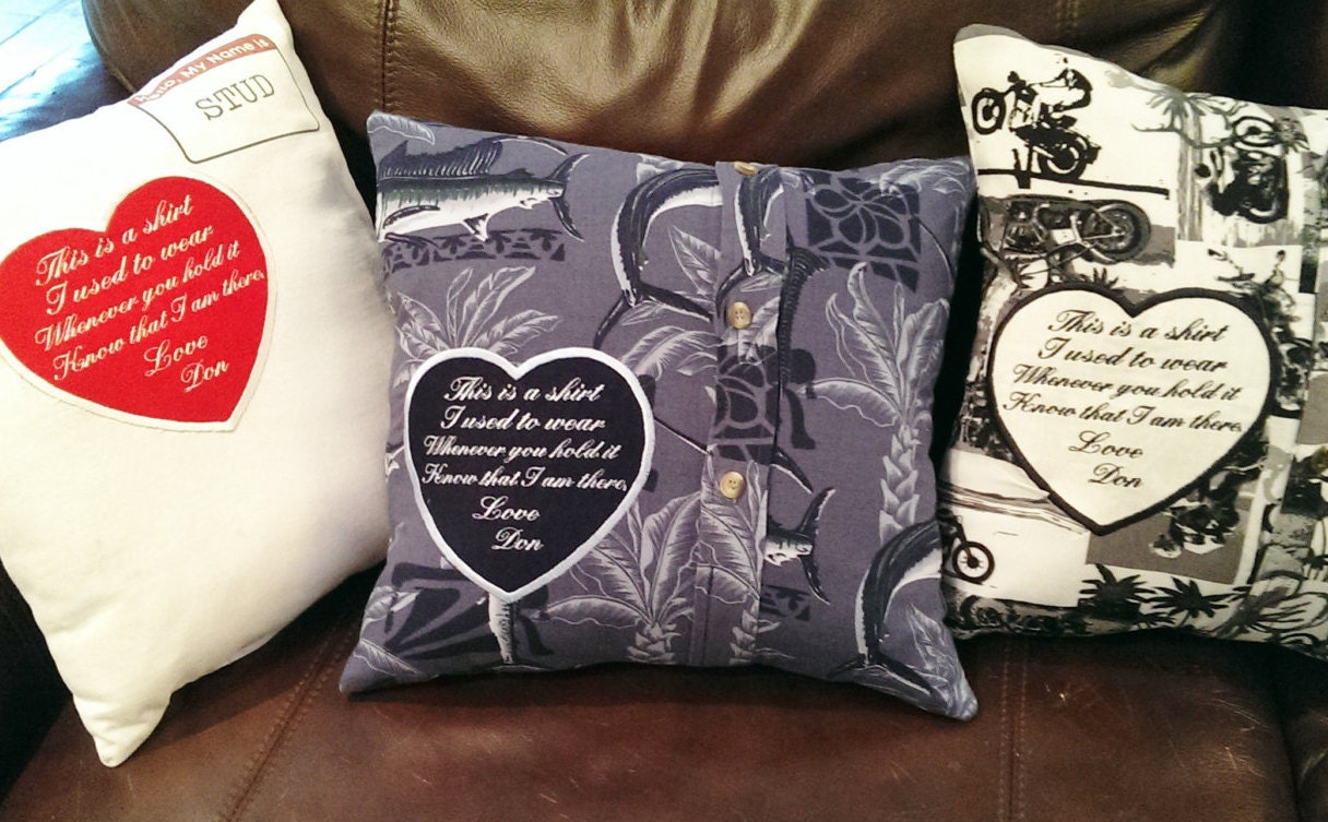 Memory Patch Memory Pillow Patches This Is A Shirt I