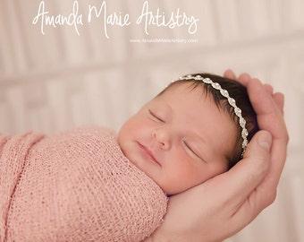 Shine Bright - Rhinestone Halo Headband. Choose your size. Baby, girls, newborn, special occasion, photo prop