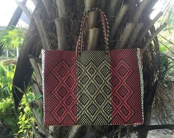 Plastic Oaxaca tote, Tote bag, Summer bag