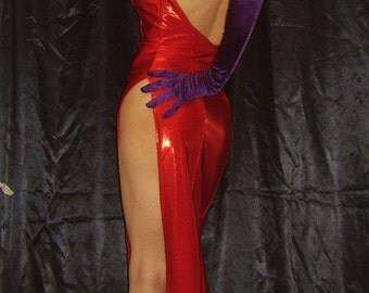 JESSICA RABBIT Costume Made To Order Jessica Rabbit Dress Cosplay Costume