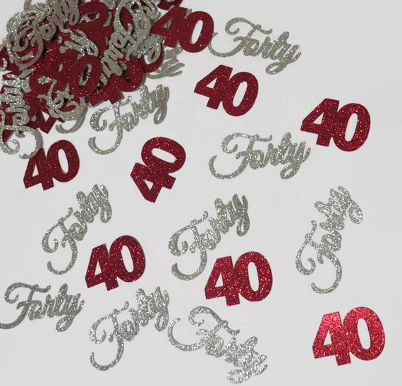 Ideas For A 40th Wedding Anniversary Party: 40th Birthday Party Decorations 40th Anniversary By PartyParts