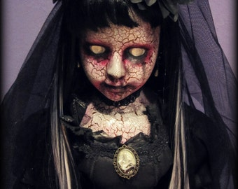 XXL Doll 240 (95cm) - The Bride in Black