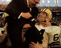 Vince Lombardi Poster, Head Coach, Green Bay Packers, Football, NFL, Champions