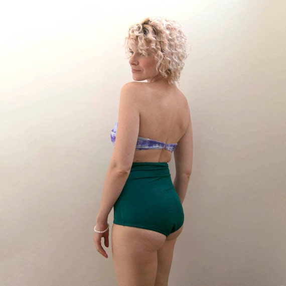Emerald high waisted bottom
