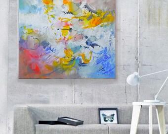 Abstract Art Original Painting Wall art Canvas Wall hanging Contemporary Home Decor Canvas Art Acrylic Painting Canvas Art Acrylic Painting
