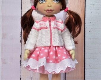 Handmade Doll,Handmade DollTextile doll, decorative doll,doll cotton, rag doll, art doll