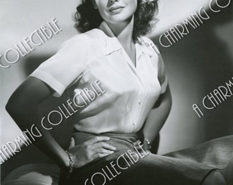 Gene Tierney 5x7, 8x10, 11x14 Photo Print Hollywood Classic Wall Hanging Art Home Decor Print Beautiful Actress Classic