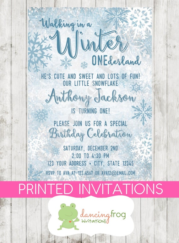 Winter Onederland Party Invitations is the best ideas you have to choose for invitation example