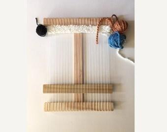Ultimate Tapestry Wood Weaving Loom Kit, Large Loom