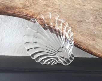 Vintage Glass Shell Dish
