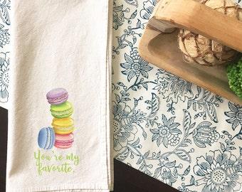 You're My Favorite | Kitchen Towel | Tea Towel | Flour Sack Towel | Cotton Dish Towel