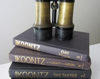 Vintage Brass Binoculars - Made by Brevete - Brass Viewing Glasses - Great for Display! Made in New York