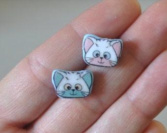 Posi and Nega-earrings-Creamy Mami