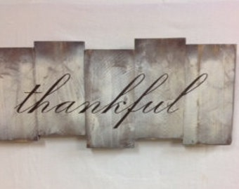 thankful sign | etsy