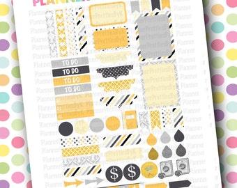 Weekly Planning Set | Lemontini