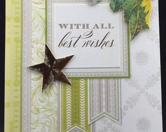 Handmade Greeting Card Graduation Wife Sister Mother Grandmother Friend Pop Up # 446