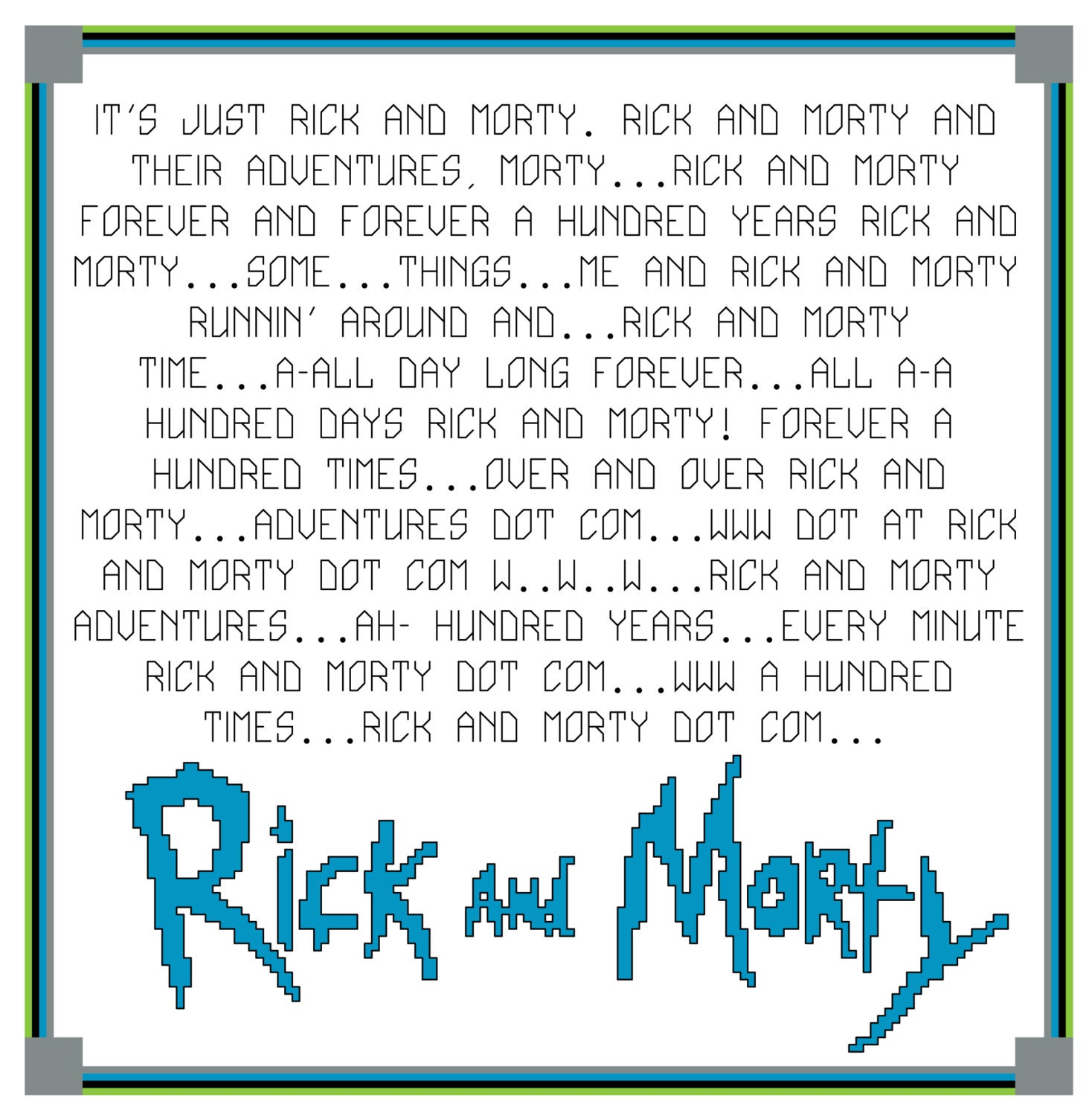 rick and morty screenplay pdf