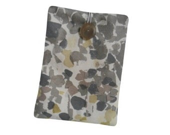 Ipad Cover, Yellow Kobo Case, Grey Splodge Ipad Mini Cover, Nook Case,Lined Kindle Fire Cover, Kindle Paperweight Case