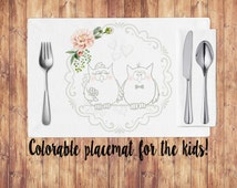 Popular Items For Paper Placemats On Etsy