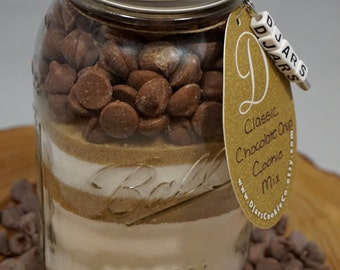 Classic Chocolate Chip Cookies - Mason Jar Cookie Mix