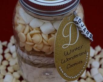 Winter Wonderland Cookies - Mason Jar Cookie Mix