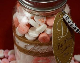 Be Mine Cookie Mix - Mason Jar Cookie Mix