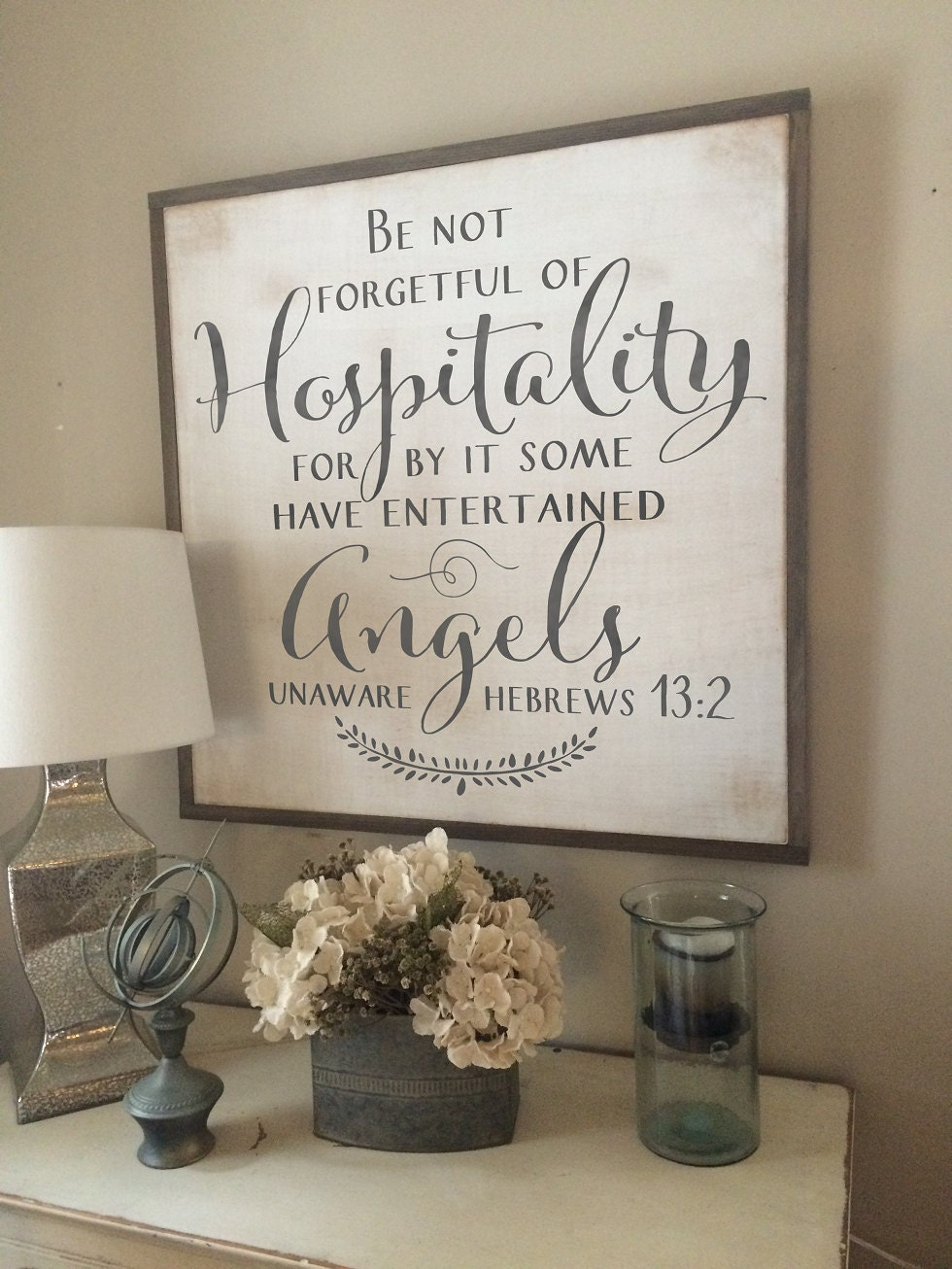 Christian Wood Sign Be Not Forgetful Of By Saltedwordscompany