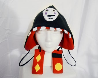 Spirited Away No Face Hat Plush Anime Cosplay