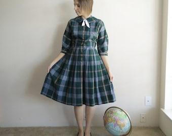 Vintage 1960s Betty Hartford Holiday Dress/60s Dress