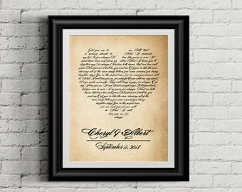 Wedding song art, Wedding song lyrics, Wedding song gift, Wedding song print, Wedding song lyric art, Wedding song lyric, DIGITAL