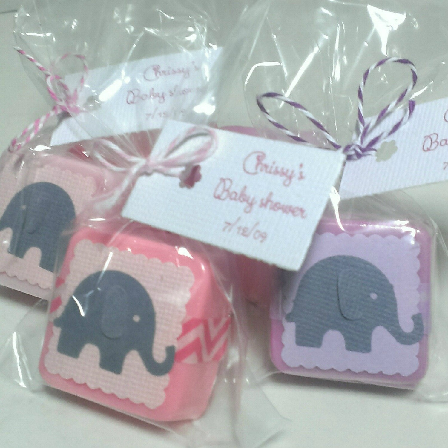 baby shower elephant favors baby shower favors for by lalalipsie