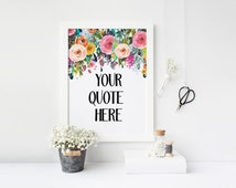 dorm wall art custom art print, printable download, Personalized quote, custom typography art, quote print, poster