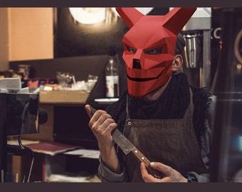 Make your own Devil 2.0 Mask