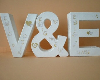 Wedding gift - letter of the pair