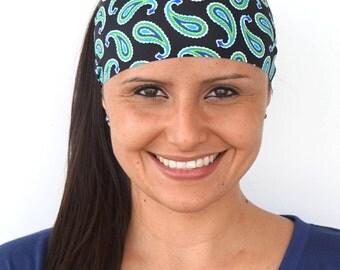Paisley Daze | Fitness headband | Yoga headband | Workout headband | Running headband | Wide Headband | Buy Any 4, Get 1 FREE! BUY4GET1FREE