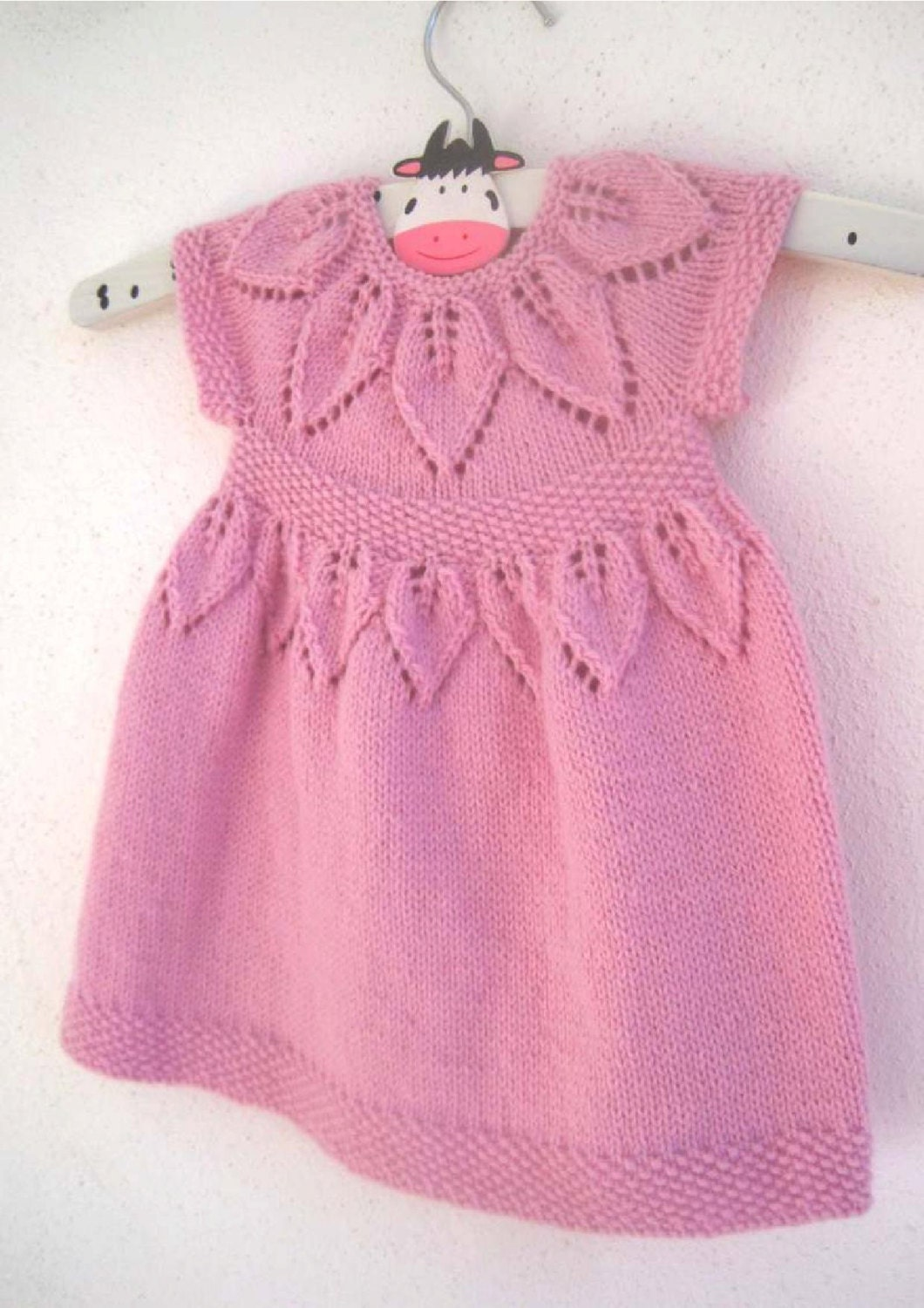 Knitting Dress For Girl : Lily dress knitting pattern baby girl to age