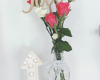 Wooden Table Numbers, Gold Table Numbers, Silver Table Numbers, Glitter Table Number, Table Numbers on Sticks, Wedding Table Numbers