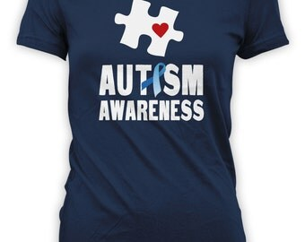 Autism Aware - Bright Autism Advocate Design, Autistic Gift for Friends Family and Special Ones. Mens Womens Kids T-Shirts. CT-011