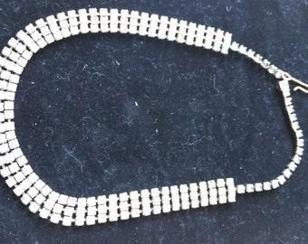 Rhinstone Retro Choker  Necklace