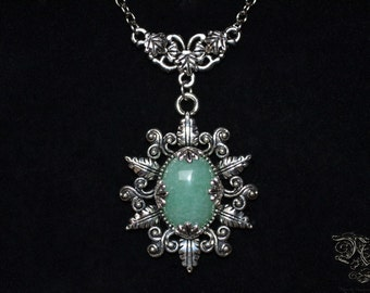 "Necklace ""Elsynia"" - Aventurine"