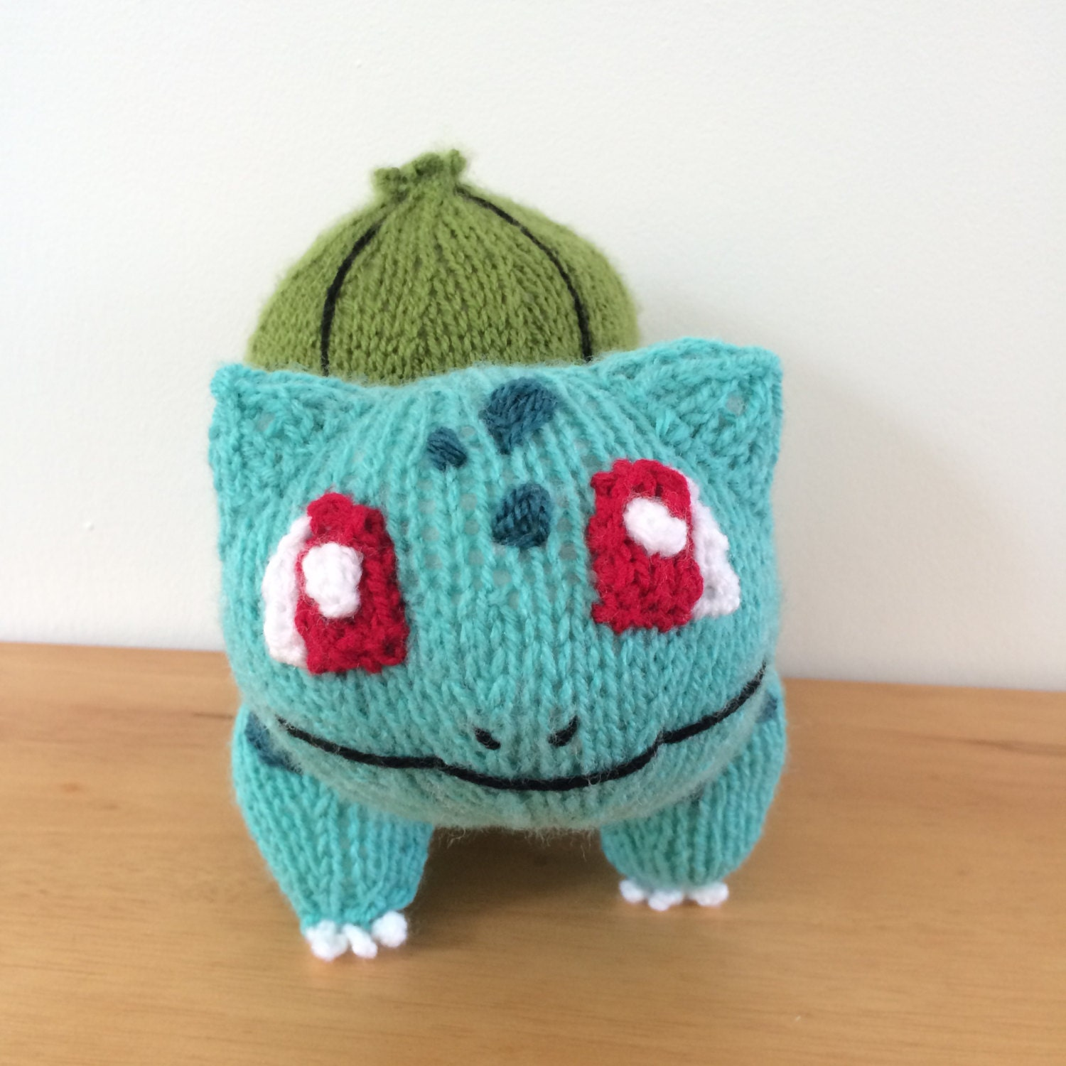 Bulbasaur knitting pattern pokemon pattern knit knitted