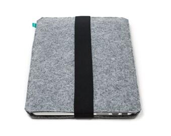 Wacom tablet case, Wacom bag, Bamboo case, wacom intuos felt cover, Wacom grey case, grey Wacom case, quilted felt case, Gopher