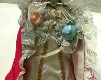 Vintage Infant Jesus of Prague Lamp Nan-San Rcckland Mass